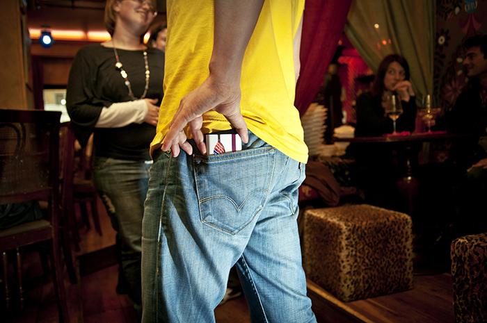 Condom Holder